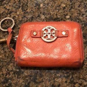 Tory Burch Zipper Card Case